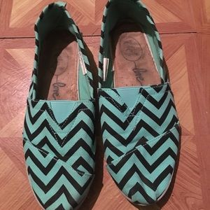 Rue21 canvas flats